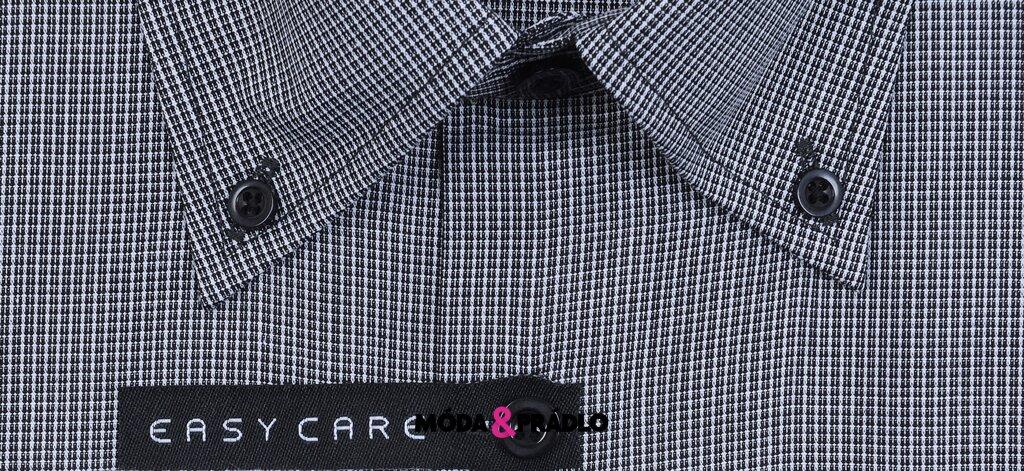 b5b434e7292d Košile AMJ Style VK 651- černobílá - moda-pradlo.sk