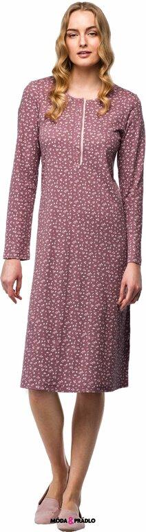 7cf518dd3d4d Bavlnená nočná košeľa pre dámy Vamp! V7449 kvety - moda-pradlo.sk