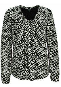 Stylová černobílá košile pro ženy Kenny S. 666674 47ef5eb562