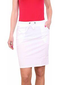 104fd7033913 Dámska športová sukňa Litex 58211 biela