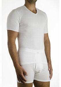 76177a5b82d1 Pánske tričko Pleas 85060 biela