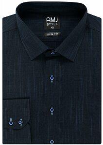 5b8c5ec87544 Pánske košele dlhý rukáv - AMJ košele a kravaty - moda-pradlo.sk