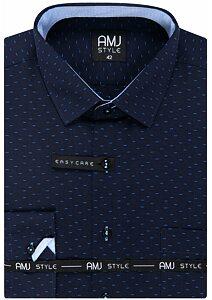 f82ea17e6f55 Pánske košele dlhý rukáv - AMJ košele a kravaty - moda-pradlo.sk