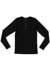 6adf86c500fe Pánske tričko Flexible s dlhým rukávom Pleas 162864 čierne