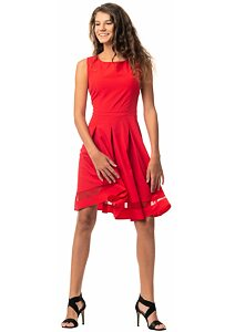 6361220da639 Šaty Vintage Fashion Mam 277 červené