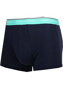 Boxerky Tommy Hilfiger Cotton Stretch 1U87903842 navy-mint