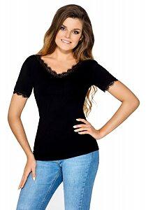 f708acfc6a1 Černé dámské tričko Babell Rebeca