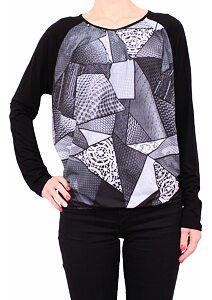 c69c01c6da92 Tunika pre ženy šedý vzor Fashion Mami 550