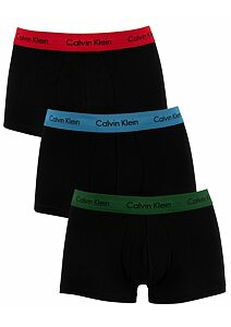Boxerky Calvin Klein U2664G-001 Cotton Stretch 3 pack BZP
