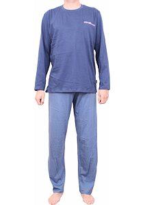 4b496d6e3389 Pánske pyžamo Pleas 164600 tm.modré