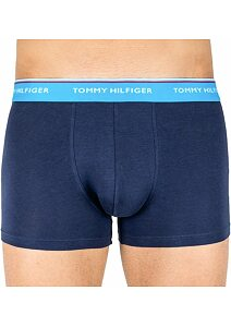 Boxerky Tommy Hilfiger Cotton Stretch 1U87903842 navy-tyrkys