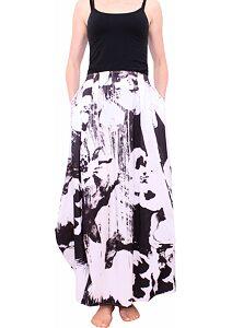 304d4baf44e6 Dlhá sukňa Fashion Mami 362 čiernobiela