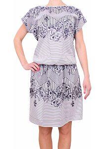 b39ced8dcb Letné šaty Fashion Mami 352 modrobiele. Nové