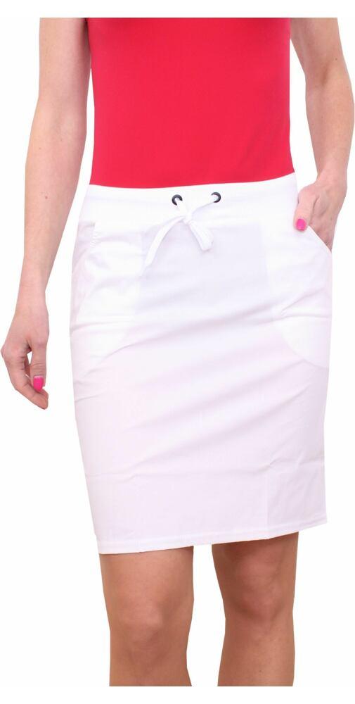 65d62a61e6f7 Dámska športová sukňa Litex 58211 biela - moda-pradlo.sk