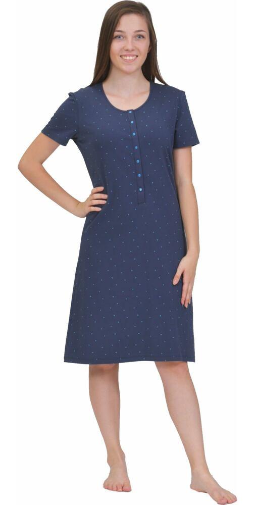 e58c28a8766a Dámska nočná košeľa Pleas 164503 tm.modrá - moda-pradlo.sk